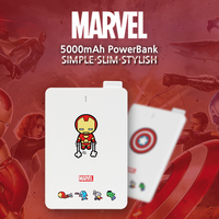 MARVEL 5000mAh CARDTYPE POWERBANK
